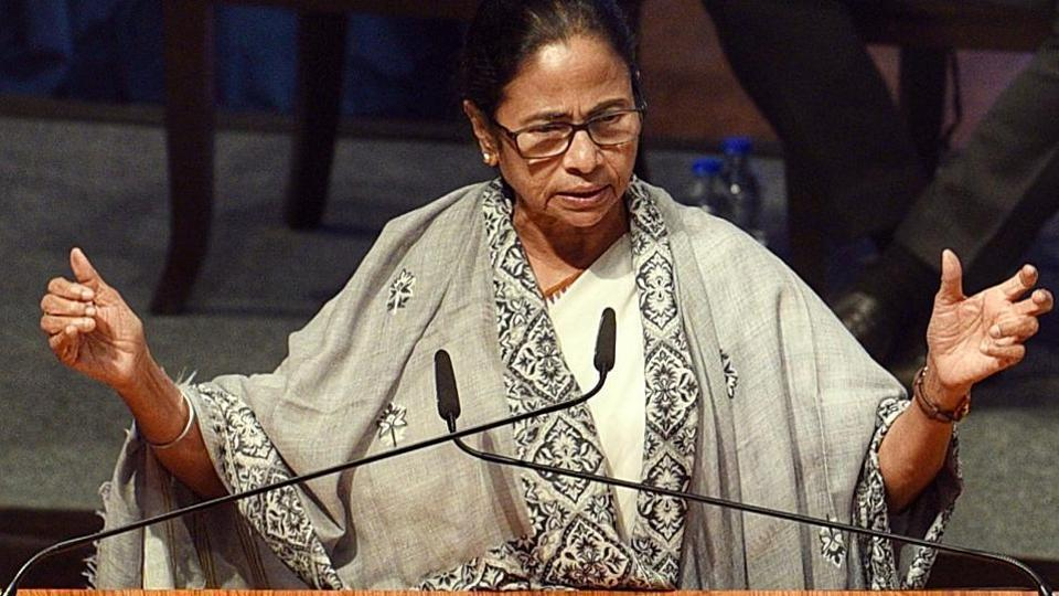 West Bengal chief minister Mamata Banerjee lashed out at the BJP after eight opposition MPs were suspended in the Rajya Sabha on Monday