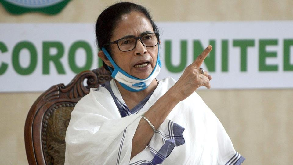 All powers over land and agricultural produce have been given to landlords and middlemen, alleged chief minister Mamata Banerjee at a press conference at the CM office in Kolkata.