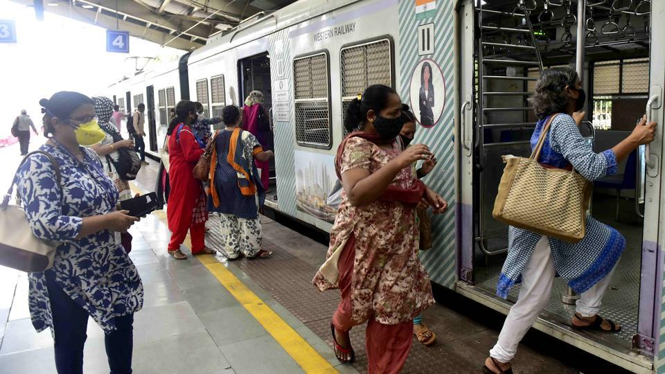 Mumbai's suburban local railway network has been suspended for the public since March 22 because of the Covid-19 pandemic.