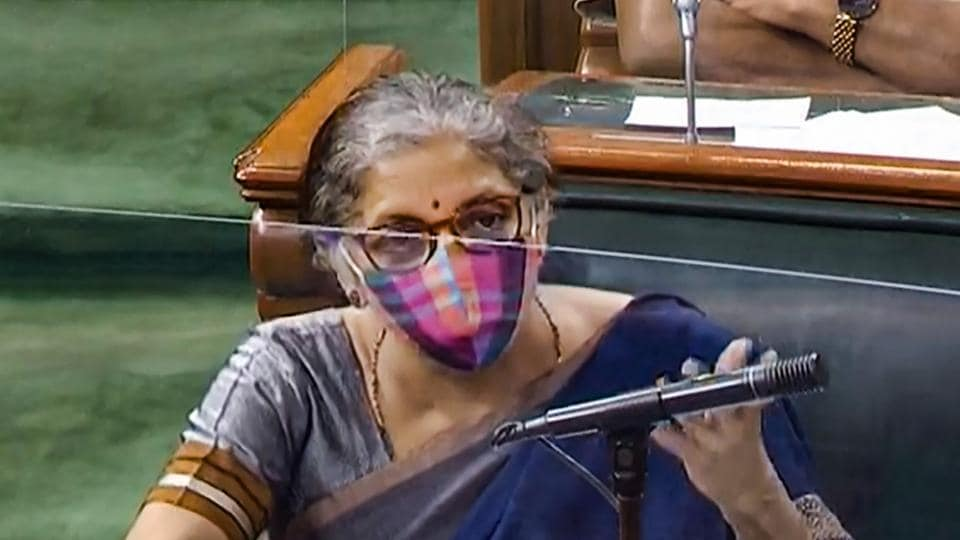 """Finance minister Nirmala Sitharaman told the house that the ordinance was issued to provide """"immediate relief"""" to companies as the government had to prevent companies, stressed due to Covid-19, from being pushed into insolvency."""