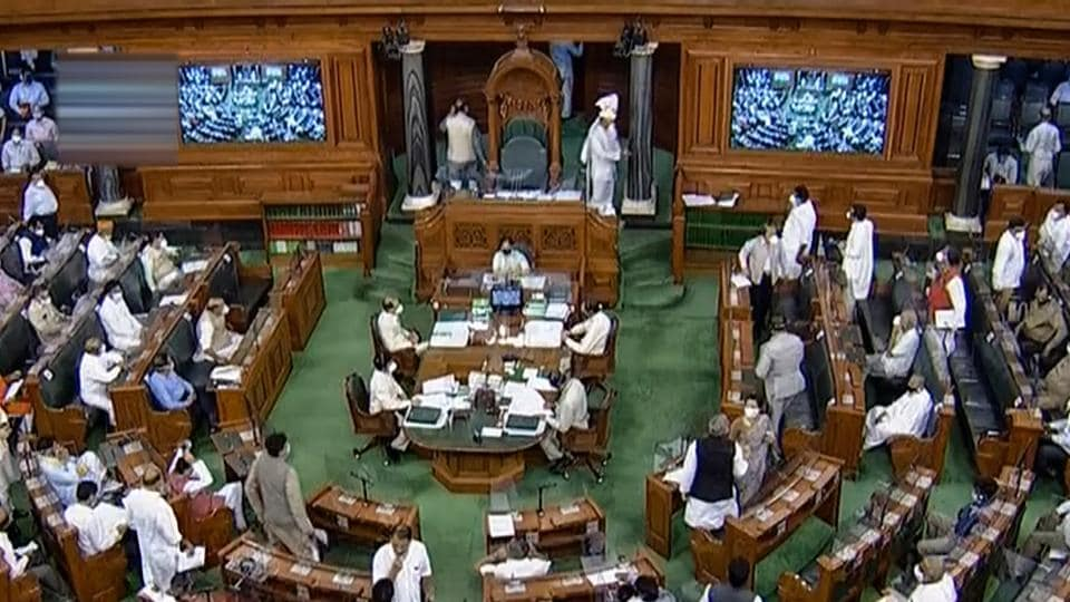 The suspended MPs initially refused to leave and shouted slogans, prompting Rajya Sabha chairman Venkaiah Naidu to adjourn the House till 10am. When the House resumed, the suspended MPs continued their protests and the House was adjourned for another half an hour.