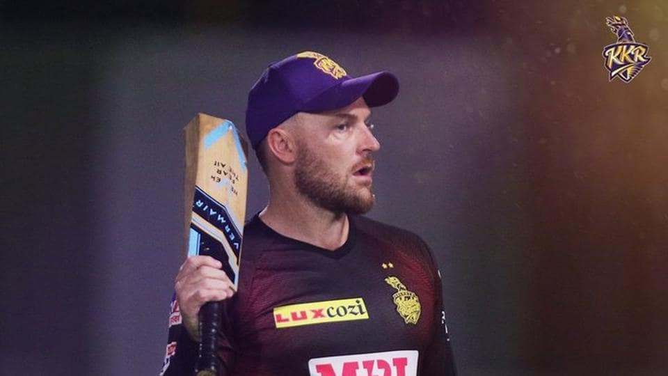 Kolkata Knight Riders head coach Brendon McCullum.