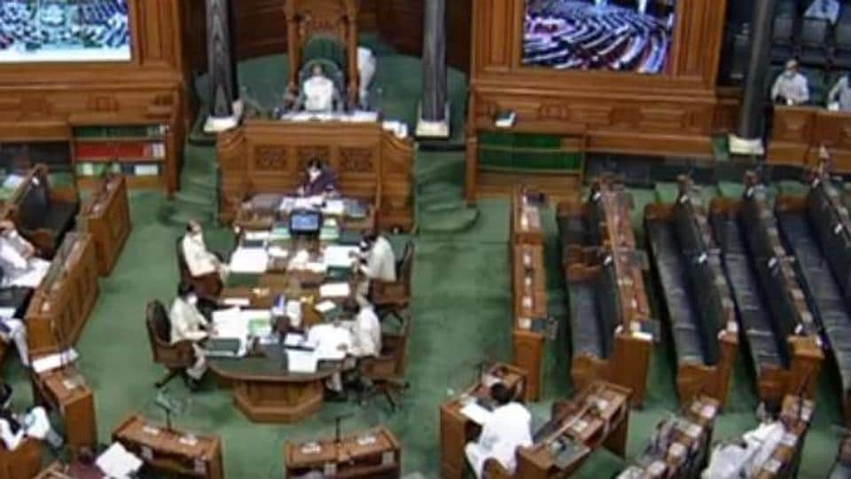 Opposition parties led by Congress boycott Lok Sabha session.