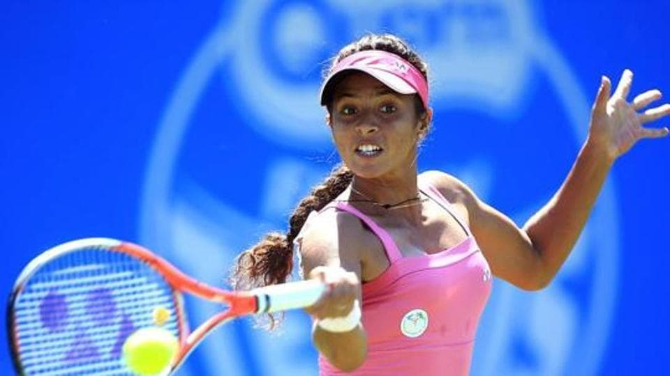 Ankita Raina of India.  (Photo by Ben Hoskins/Getty Images for LTA)