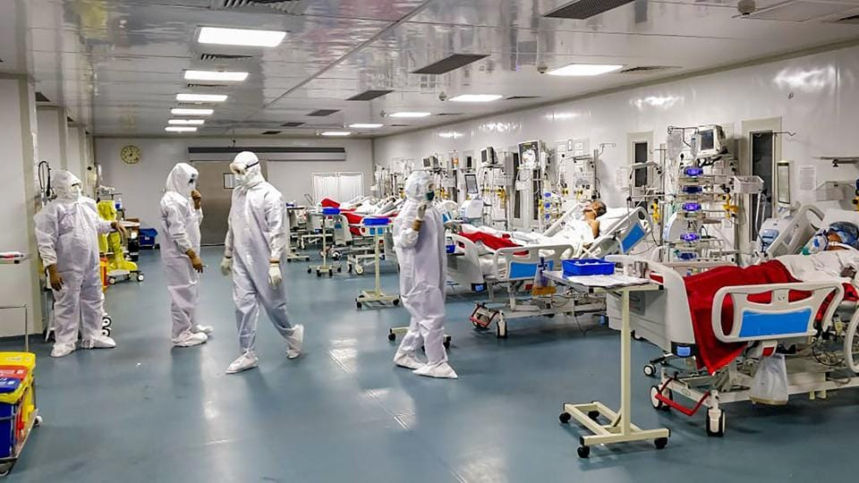 Army Institute of Cardio Thoracic Sciences (AICTS), Army Covid -19 hospital in Pune that undertakes critical Covid -19 care.