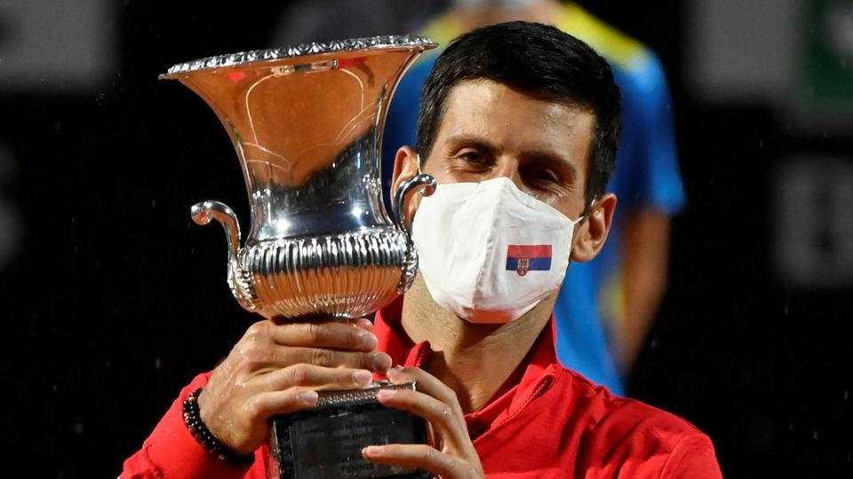 Novak Djokovic wins fifth Italian Open to make Masters history