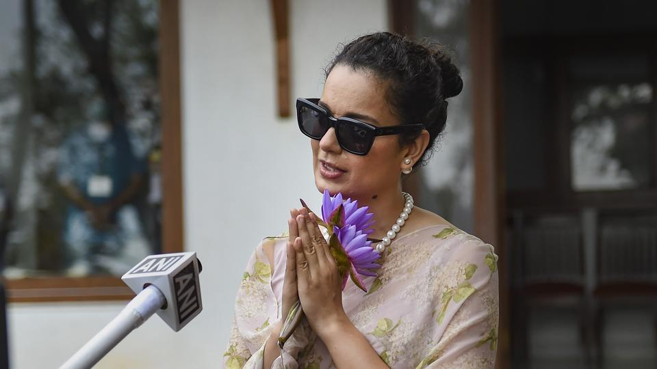File photo: Bollywood actor Kangana Ranaut.