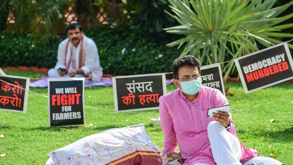 Rajya Sabha commotion resonates in Bihar, support for Harivansh pours in