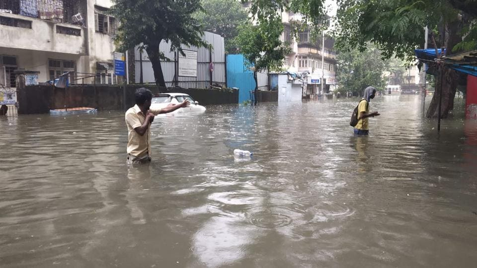 Heavy rain, water logging disrupts Mumbai's public transport – india news