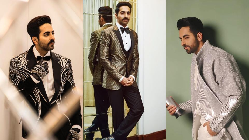Through the years, Ayushmann has given us a look into just how much a simple suit can be played with.