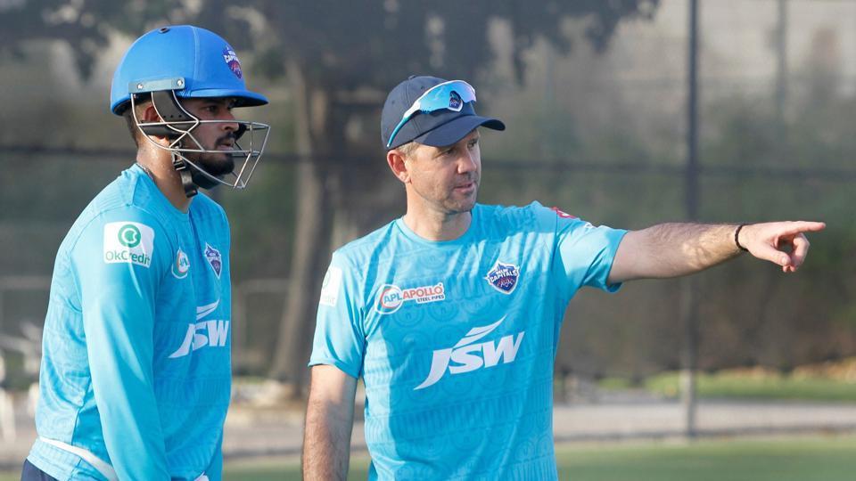 Dubai: Head Coach Ricky Ponting and Captain Shreyas Iyer of Delhi Capitals
