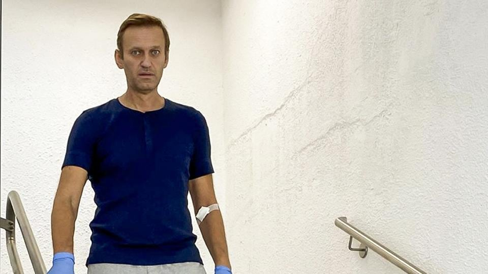 Russia's Navalny released from German hospital after 32 days - Hindustan Times