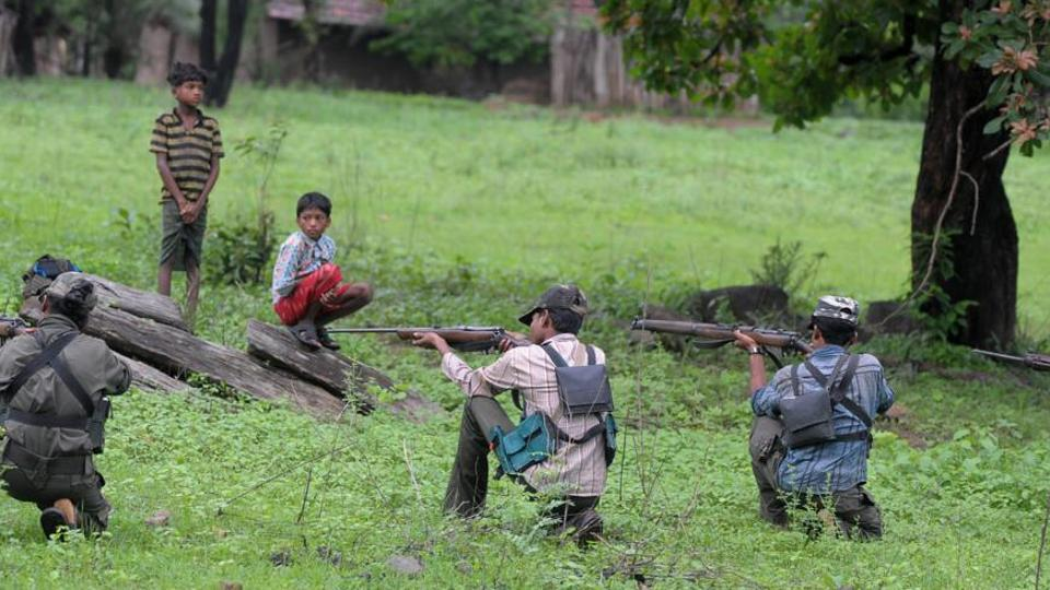 The incident occured when the security forces were engaged in combing operations following information that a team of Maoists was moving in the forests of Chennapuram . (Image used for representation).