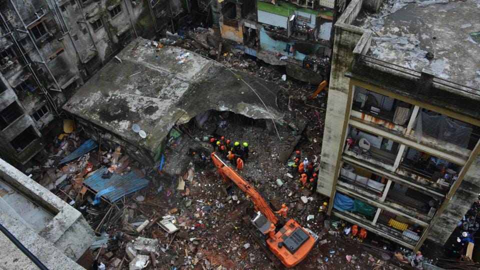 After carrying out rescue operations for over 30 hours, the NDRFalong with other teams used machinery from both sides of the site to clear large portions of debris on the first floor of the building.