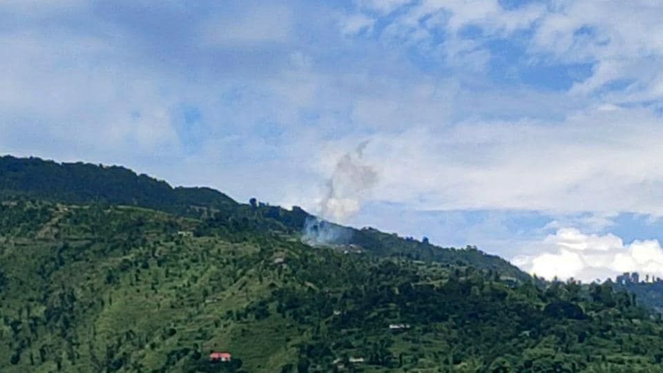 Pakistan violated the ceasefire by firing with small arms & intense shelling with mortars along LoC in Poonch earlier as well; it has done so 37 times already in September.