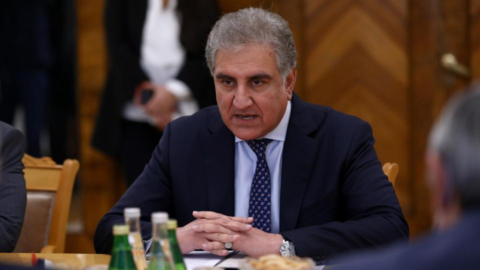 A file photo of Pakistani foreign minister Shah Mahmood Qureshi.