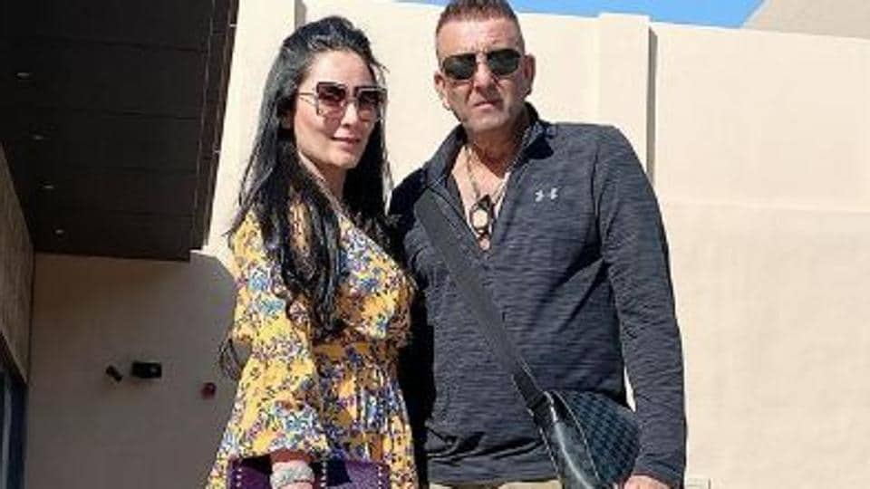 Sanjay Dutt and his wife Maanayata are currently in Dubai.