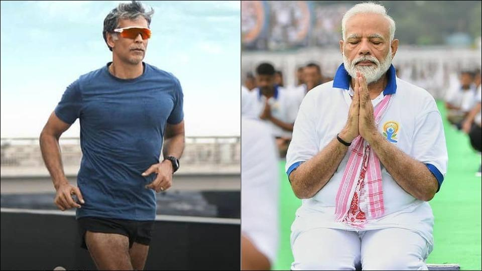 PM Modi hilariously asks Milind Soman 'are you really that old'