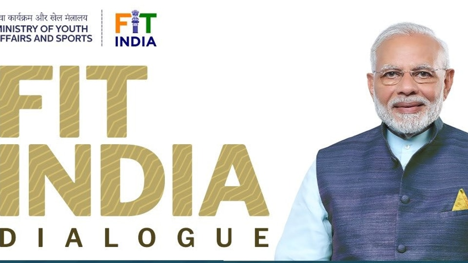Prime Minister Narendra Modi will participate in a virtual dialogue to mark the one-year anniversary of  Fit India Movement.