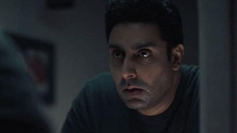Abhishek Bachchan in a still from Breathe: Into the Shadows.