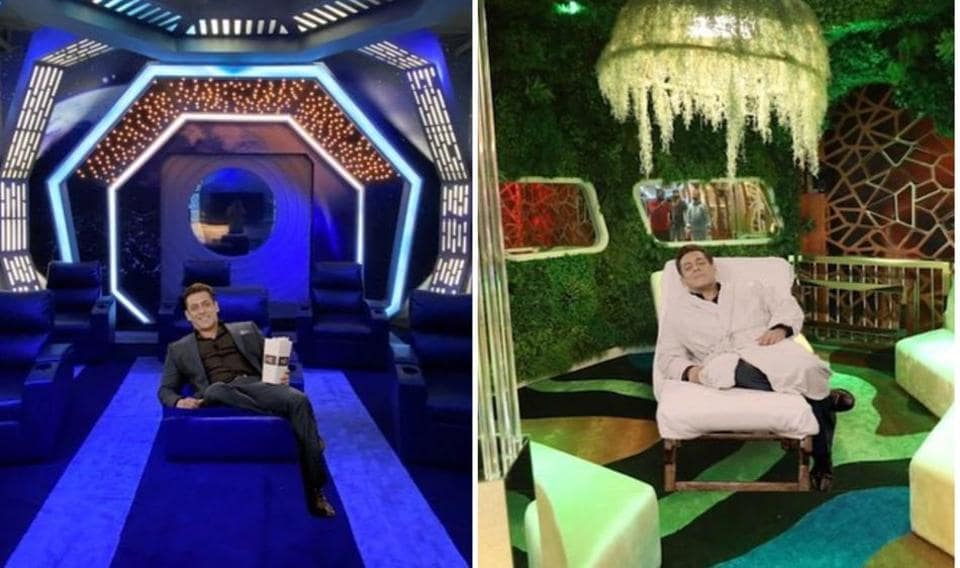 Salman Khan gives a tour of Bigg Boss 14 house, introduces spa, mall, restaurant and theatre