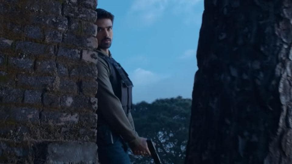 Saqib Saleem plays the central role of Riyaaz Pathan in Crackdown.