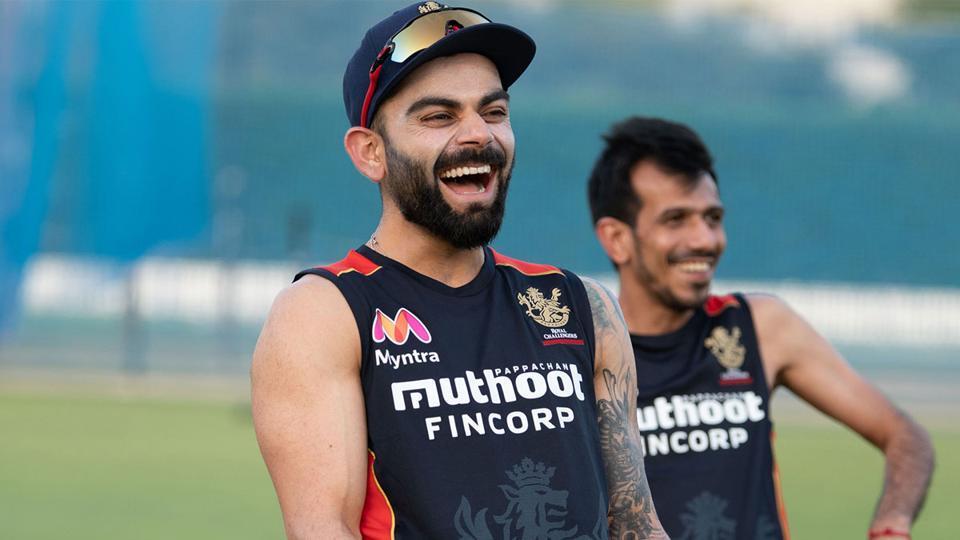 IPL 2020 Live Streaming, KXIP vs RCB: Virat Kohli and Yuzvendra Chahal are all smiles.