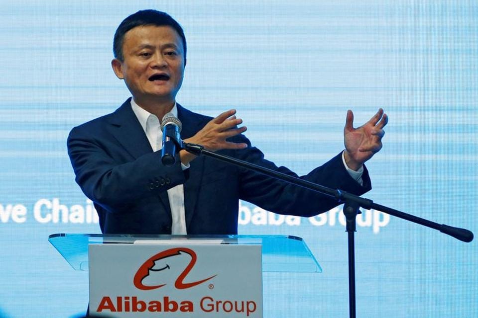 Alibaba founder Jack Ma has been overtaken as China's wealthiest person (REUTERS/Lai Seng Sin/File Photo)