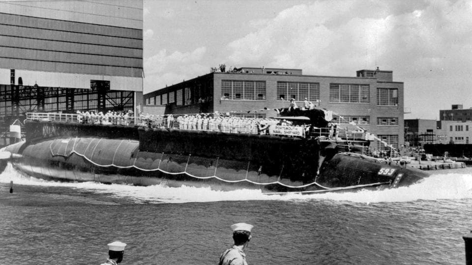 The Thresher story was already well known. It had undergone sea trials and was back in the ocean for deep-dive testing about 220 miles off Massachusetts' Cape Cod.