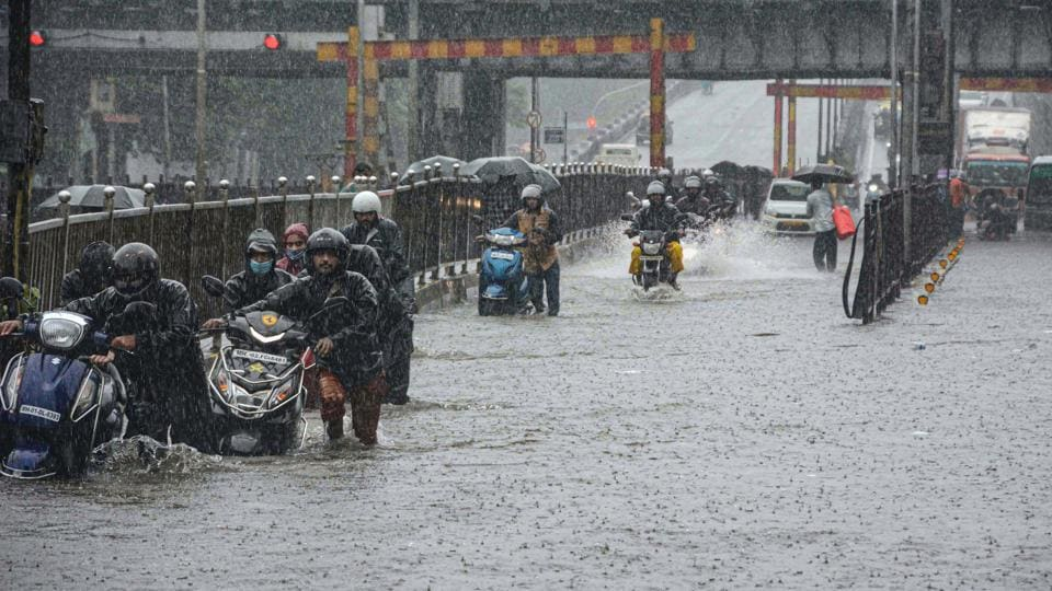 Rains across the island city and the western suburbs picked up late on Tuesday evening. There were intense spells across Mumbai overnight, a civic official said.