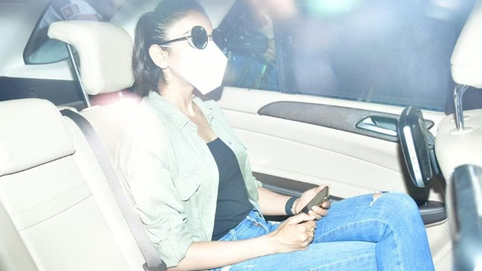 Rakul Preet Singh has reached NCB office for questioning.