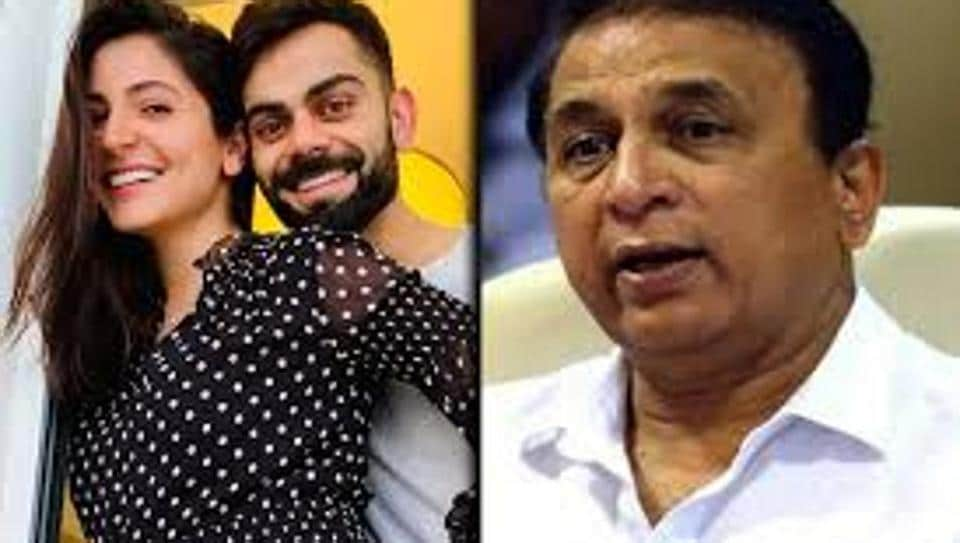 Sunil Gavaskar's comment on Anushka Sharma and Virat Kohli has led to a controversy.