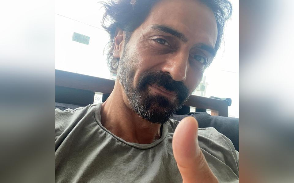 Arjun Rampal shared that he has tested negative for Covid-19.