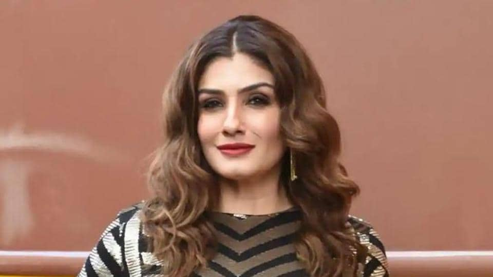 Raveena Tandon had previously called for a clean-up of Bollywood.