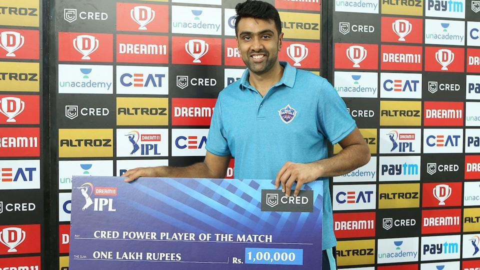 IPL 2020: R Ashwin was the Player of the Match the other night.