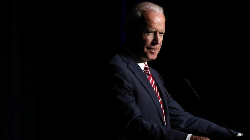 Former vice president and USpresidential candidate Joe Biden.