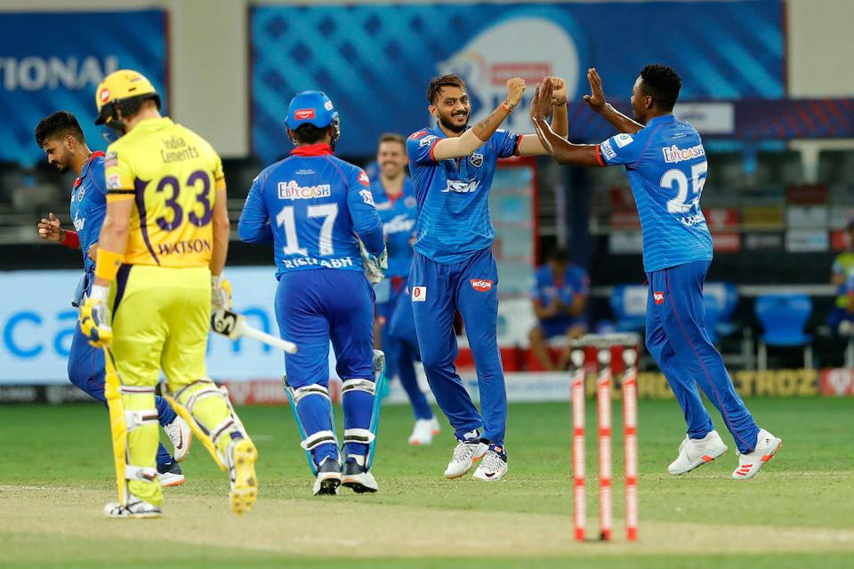 CSK opener Shane Watson could score 14 before he fell to Axar Patel's spin. (IPL)