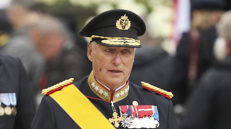 King Harald V of Norway .