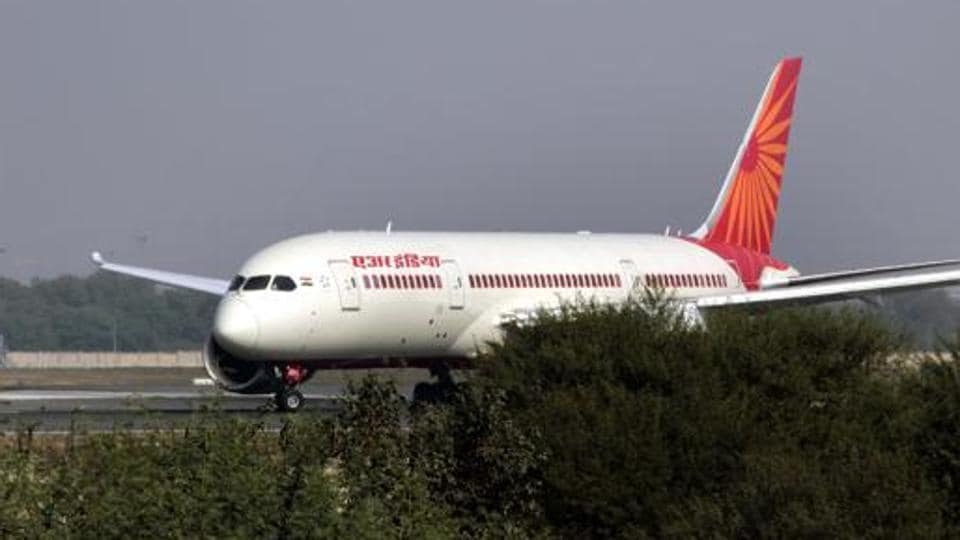 Air India passenger plane.