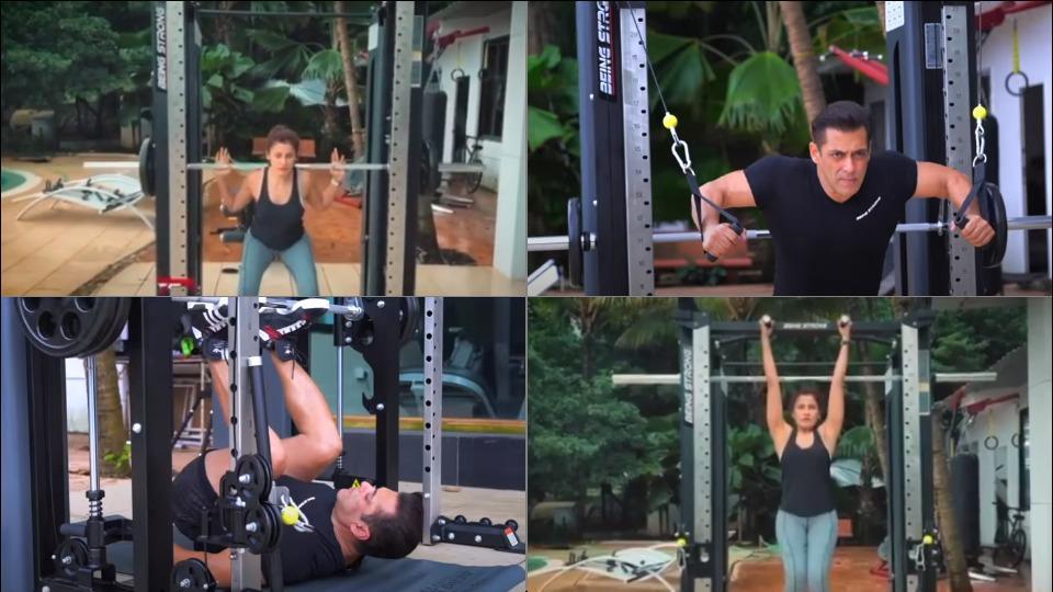 Salman Khan-Yasmin Karachiwala's full body workout in latest video leaves fans smitten