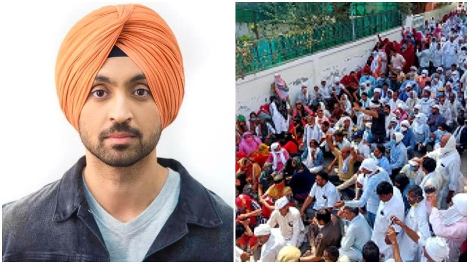 Diljit Dosanjh and other Punjabi stars have extended their support to the farmers.