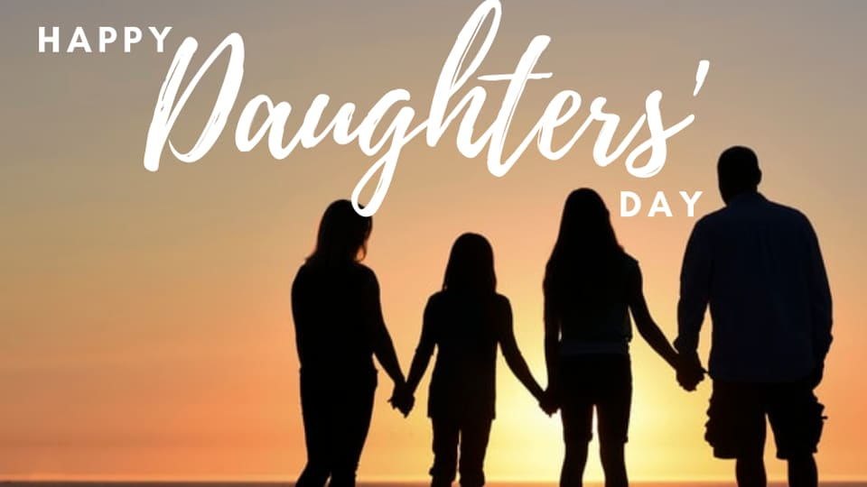 Daughters' Day is celebrated on the last Sunday of September.