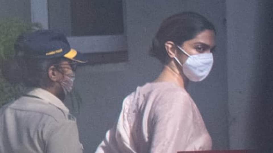 Deepika Padukone arrives at NCB-SIT guest house