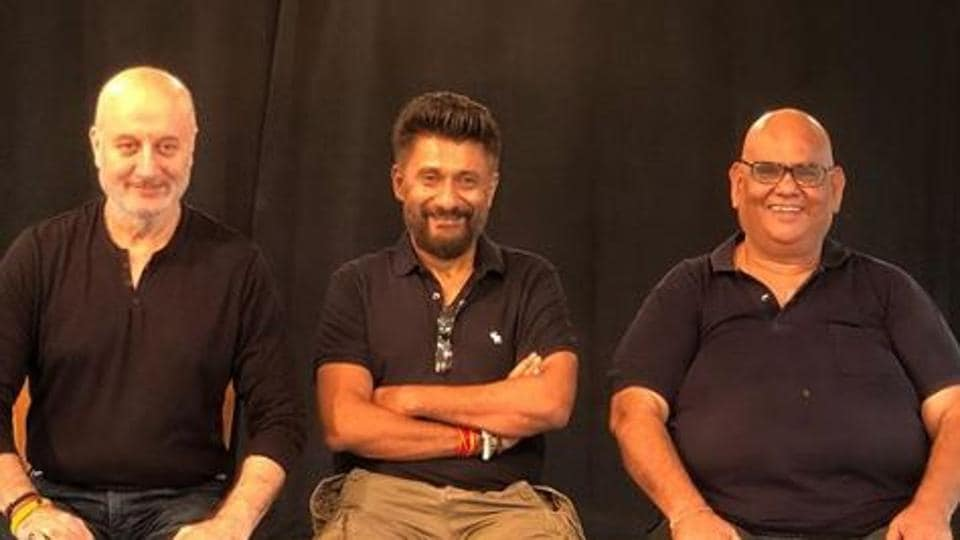 Anupam Kher is currently in Bhopal for shooting of The Last Show with Vivek Agnihotri.