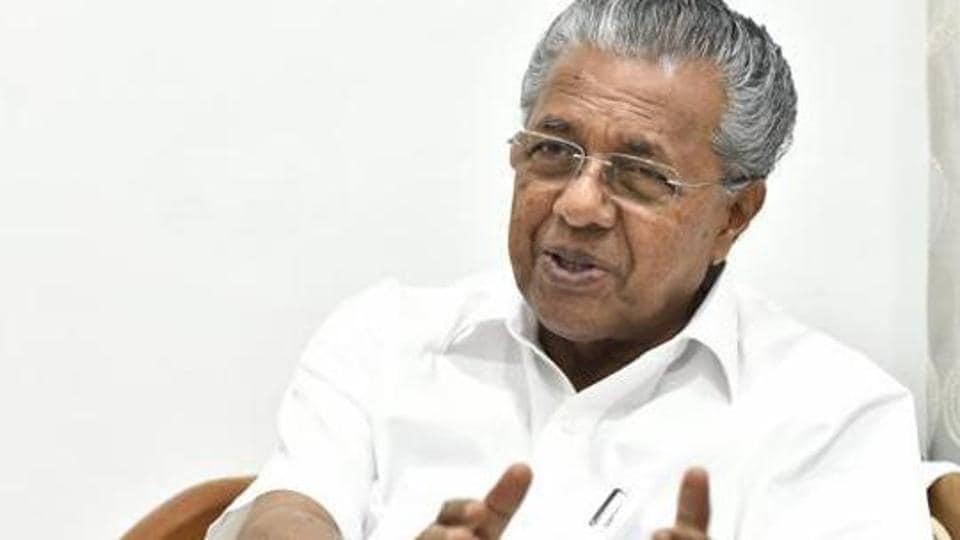 File photo: Kerala chief minister Pinarayi Vijayan.