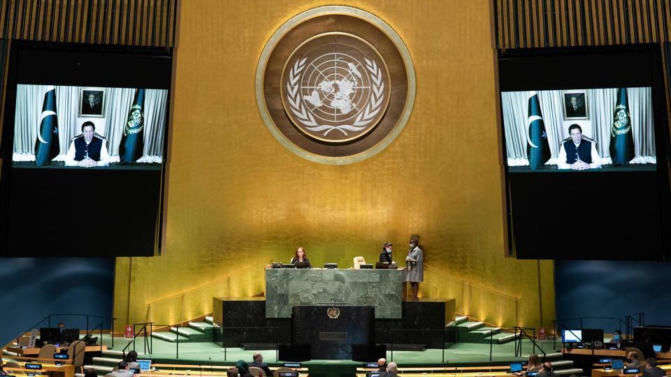 UN General Assembly: India dismisses Pakistan PM's criticism on Kashmir issue