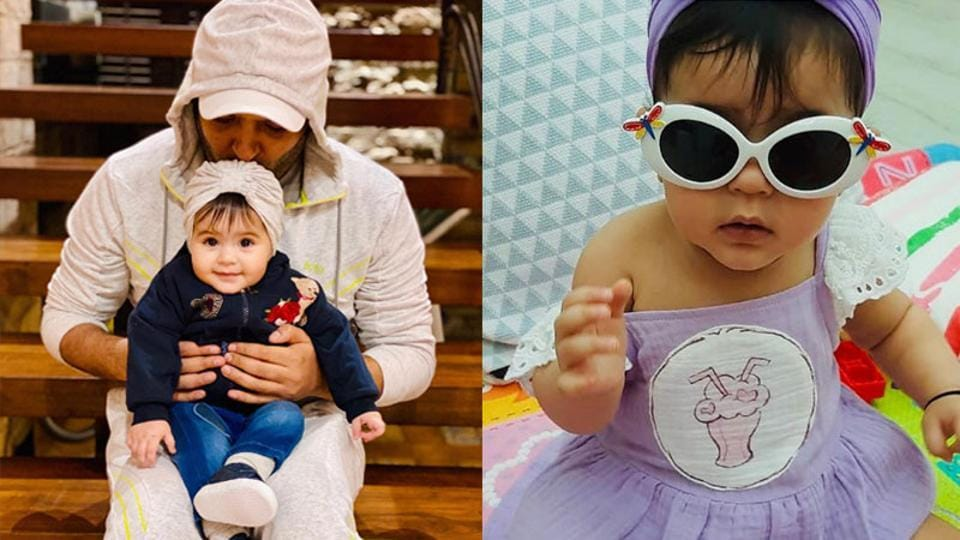 Kapil Sharma has shared two cute pictures of daughter Anayra.