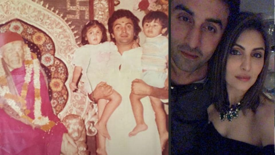 Riddhima Kapoor Sahni has shared a few pictures with Ranbir Kapoor on her Instagram Stories.