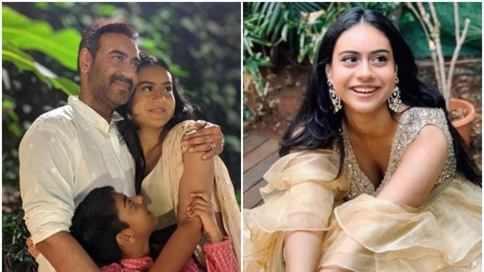 Ajay Devgn wished his daughter Nysa on Daughter's Day.