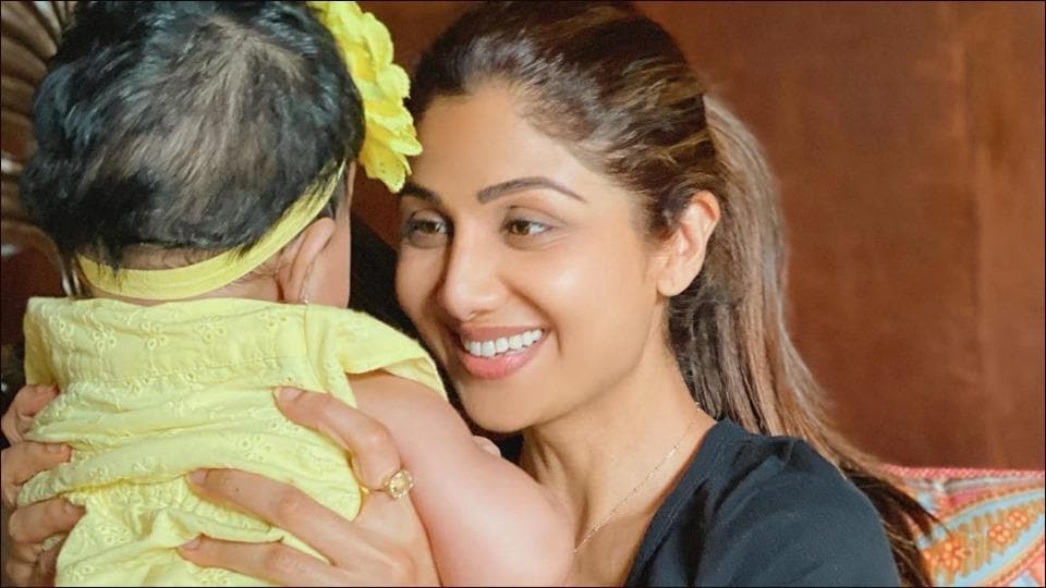 Shilpa Shetty Kundra pens heartwarming note for 7-month old Samisha on Daughters' Day 2020